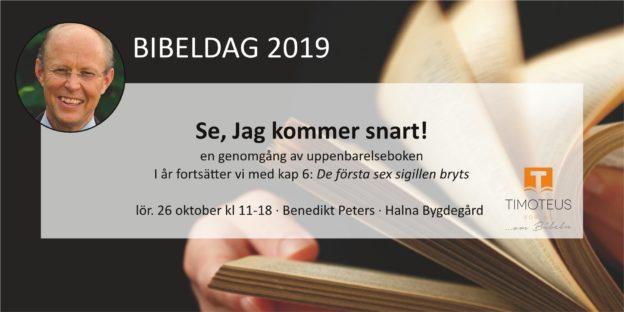 Bibeldag 26/10-2019